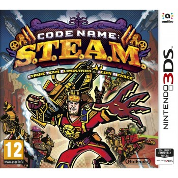 Code Name : S.T.E.A.M. - 3DS