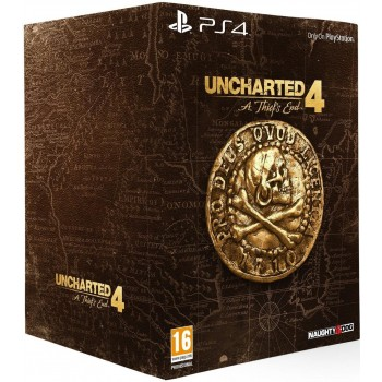 Uncharted 4: A Thief's End - édition collector - PS4
