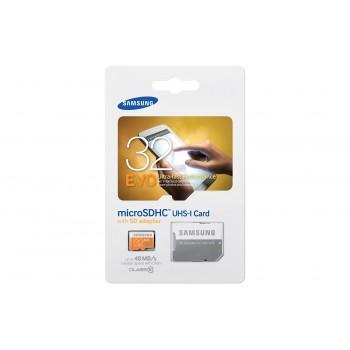 Carte mémoire EVO Micro SD Classe 10 32 Go Avec Adaptateur SD
