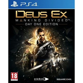 Deus Ex : Mankind Divided - édition day one - PS4