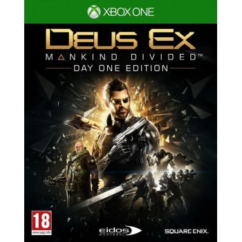 Deus Ex : Mankind Divided - édition day one - Xbox One