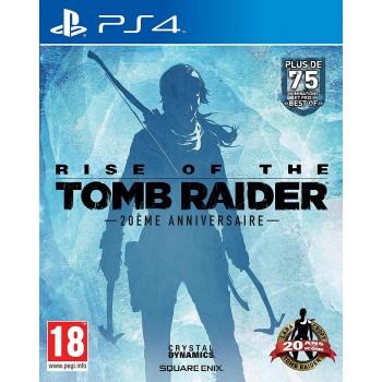 Rise of the Tomb Raider - 20ème anniversaire : édition artbook- PS4