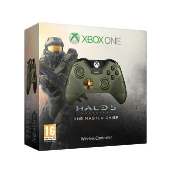 Manette sans fil Xbox One Halo 5: Guardians - The Master Chief édition limitée