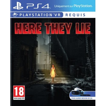Here They Lie - Playstation VR - PS4