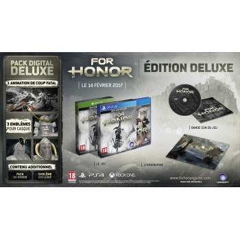 For Honor Deluxe Edition - PS4