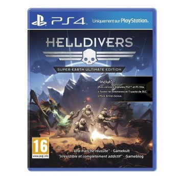 Helldivers : super-earth - Ultimate Edition - PS4