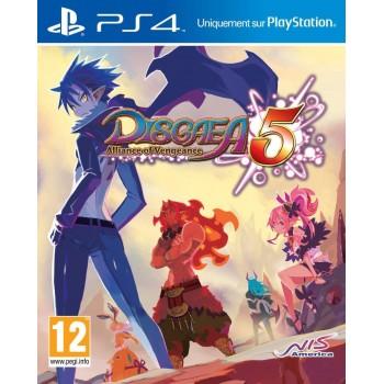Disgaea 5 : alliance of vengeance - PS4