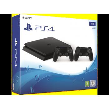 PS4 Slim 1 TB Noir + Manette extra