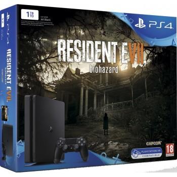 PS4 Slim - 1 To + Resident Evil 7
