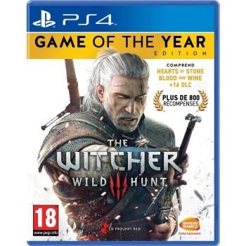 The Witcher 3 : Wild Hunt - édition jeu de l'année - PS4