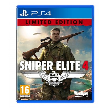 Sniper Elite 4 Day One Edition - PS4