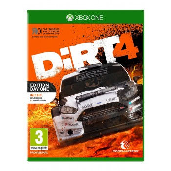 Dirt 4 - Edition Steelbook - Xbox One