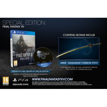 Final Fantasy XV - Special Edition - PS4
