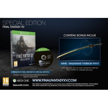 Final Fantasy XV - Special Edition - Xbox One