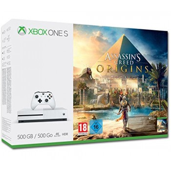 Xbox One S 500 Go + Assassin's Creed Origins