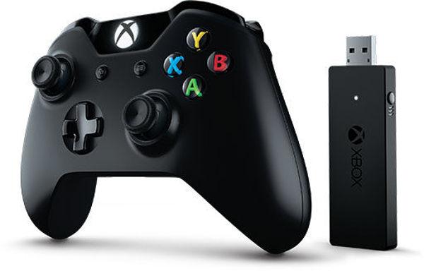 Manette Xbox One Pro avec Adaptateur sans fil pour PC