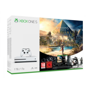Xbox One S 1 To + Assassin's Creed Origins + Rainbow 6 Siege