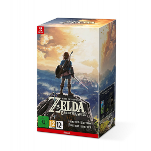 Promo - The Legend of Zelda : Breath of the Wild - édition limitée - Switch