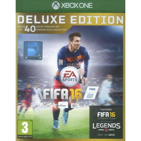 Fifa 16 - édition deluxe - Xbox One