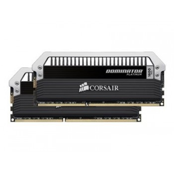 Corsair Dominator Platinum - DDR3 - 8 GB : 2 x 4 GB - DIMM 240-pin - 2400 MHz / PC3-19200 - CL11 - 1.65 V