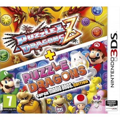 Puzzle & Dragons Z + Puzzle Dragons Super Mario Bros. édition - 3DS