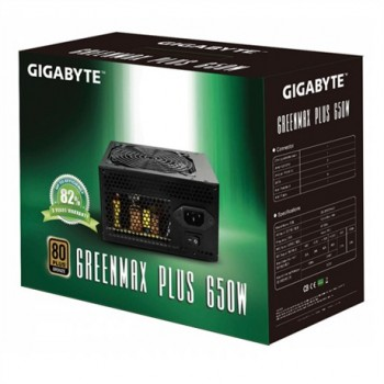Gigabyte GreenMax Plus - 80 PLUS Bronze - 650 Watt - GZ-EMS65A-C1