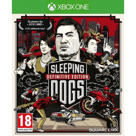 Sleeping Dogs - Definitive Edition - PS4