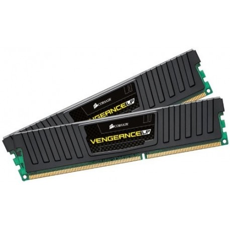Corsair Vengeance - DDR3 - 16 GB : 2 x 8 GB - DIMM 240-pin - 1600 MHz / PC3-12800 - CL9 - 1.5 V - unbuffered - non-ECC