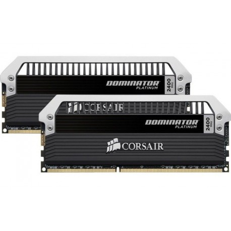 Corsair Dominator Platinum - DDR3 - 8 GB : 2 x 4 GB - DIMM 240-pin - 2400 MHz / PC3-19200 - CL11 - 1.65 V - unbuffered - non-ECC