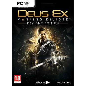 Deus Ex : Mankind Divided - édition day one - PC