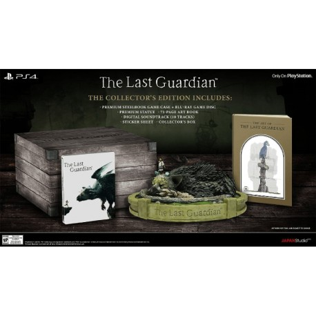 The Last Guardian - édition collector - PS4