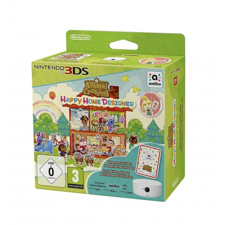 Animal Crossing : Happy Home Designer + Lecteur NFC - 3DS