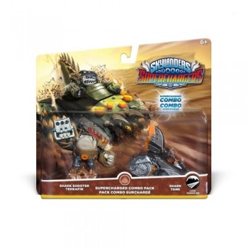 Skylanders SuperChargers - Dual Pack : Shark Shooter Terrafin + Shark Tank