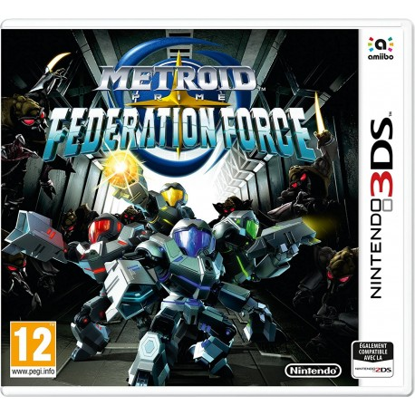 Metroid Prime Federation Force - 3DS