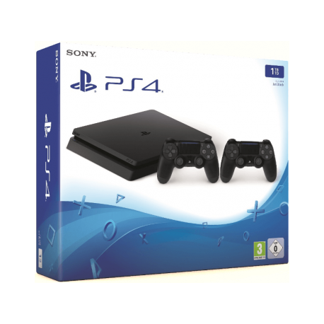 PS4 Slim 1 TB Noir + Manette extra