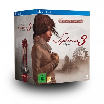 Syberia 3 - édition collector - PS4