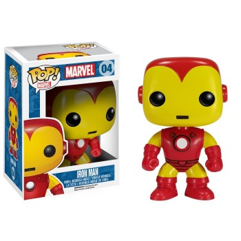 Marvel - Funko POP N° 04 - Iron Man