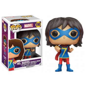 Marvel - Funko POP N° 190 - Ms. Marvel : Kamala Khan