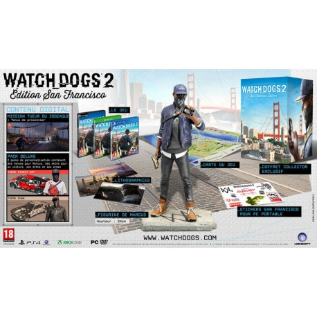 Watch Dogs 2 : Édition San Francisco - PS4