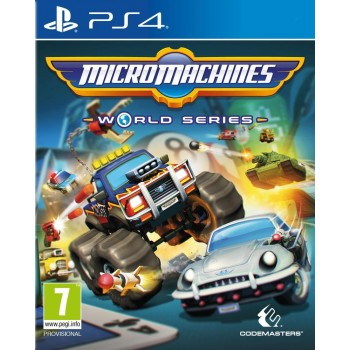 Micro Machines: World Series - PS4
