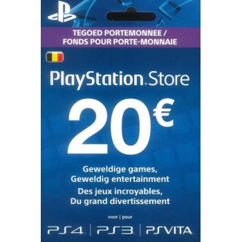 PlayStation Store Network Card 20€
