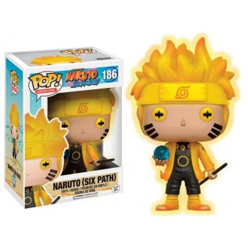 NARUTO - Funko POP N° 186 - Naruto Six Paths - Glow in the Dark Limited Edition