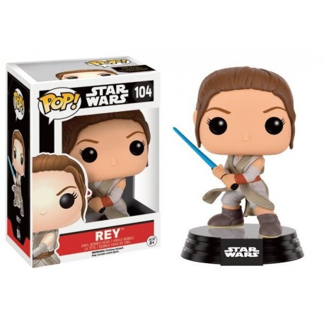 STAR WARS 7 - Funko Pop N° 104 - Rey Battle Pose