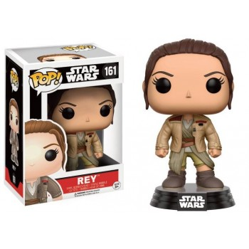 STAR WARS 7 - Funko Pop N° 161 - Rey in Finn's Jacket (LIMITED)