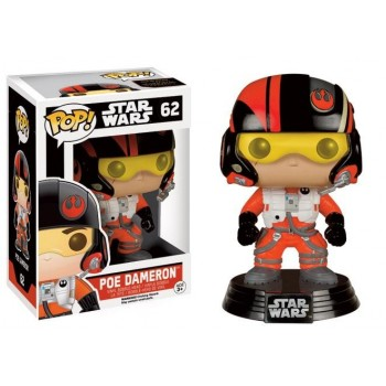 STAR WARS 7 - Funko Pop N° 62 - Poe Dameron