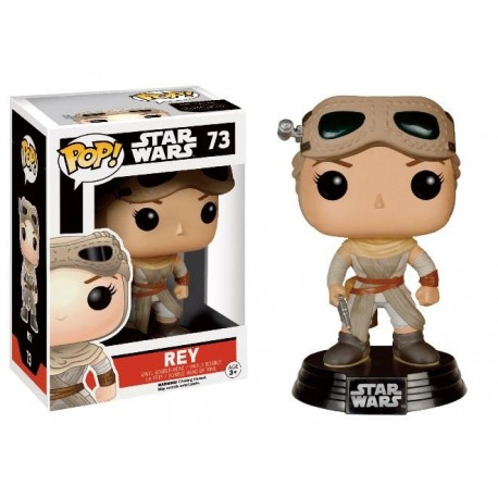 STAR WARS 7 - Funko Pop N° 73 - Rey With Goggles (LIMITED)