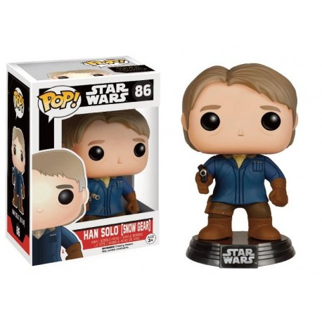 STAR WARS 7 - Funko Pop N° 86 - Han Solo in Snow Gear (LIMITED)