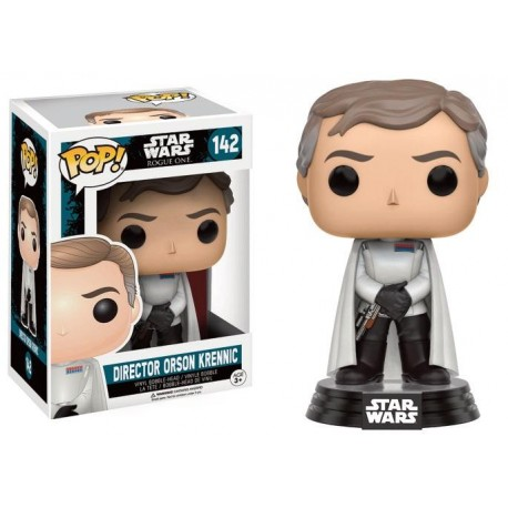 STAR WARS ROGUE ONE- Funko POP N° 142 - Director Orson Krennic