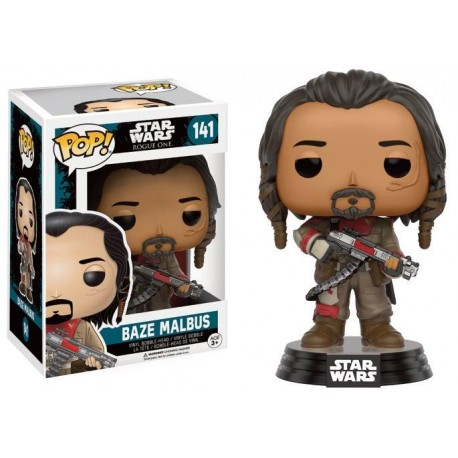 STAR WARS ROGUE ONE - Funko POP N° 141 - Baze Malbus