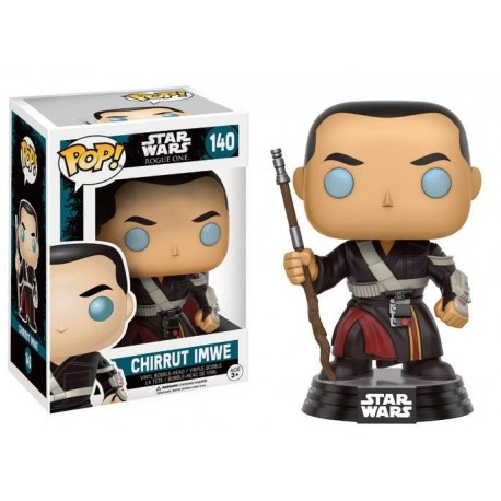 STAR WARS ROGUE ONE - Funko POP N° 140 - Chirrut Imwe